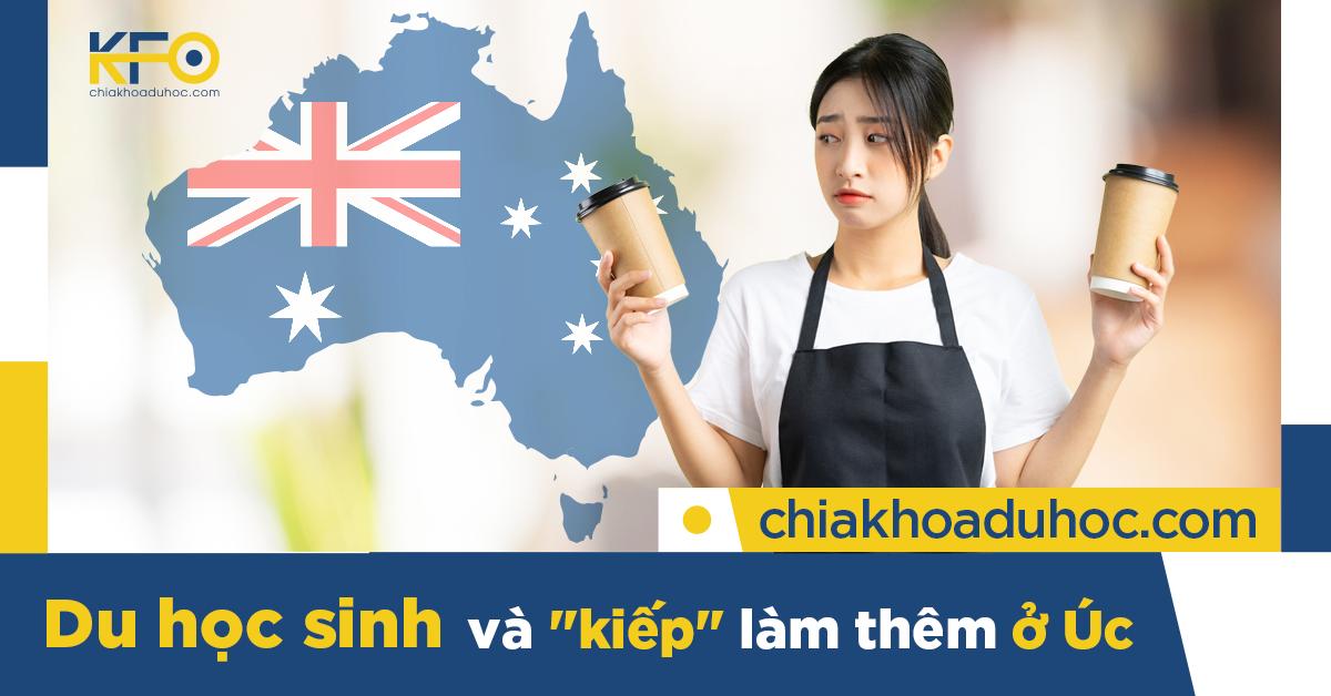 Những công việc part time nào dành cho các Du học sinh Úc?